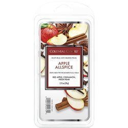 Colonial Candle Classic soy wax melt 6 cubes 2.75 oz 77 g - Apple Allspice