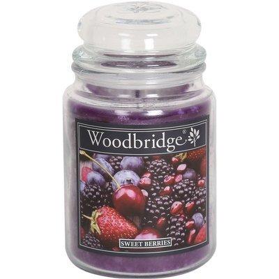 Woodbridge Scented Candle Large Jar 2 wicks 565 g - Sweet Berries