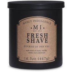 Colonial Candle sojowa świeca zapachowa w szkle 16.5 oz 467 g - Fresh Shave