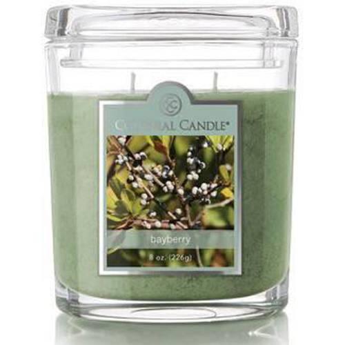 Colonial Candle średnia świeca zapachowa w owalnym szkle 8 oz 226 g - Bayberry