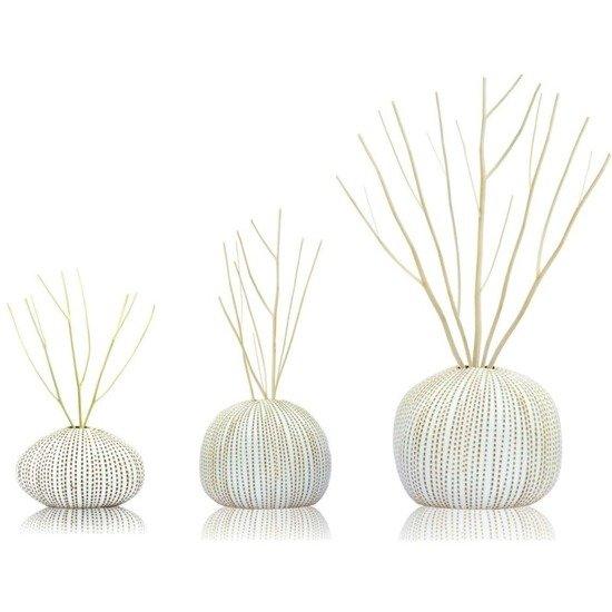 BsaB Luxury Ceramic Diffuser Set zestaw trzech luksusowych ceramicznych dyfuzorów zapachowych 240 ml - Himalayan Spices