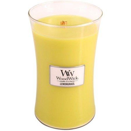 WoodWick Core Large Candle świeca zapachowa sojowa w szkle ~ 175 h - Lemongrass
