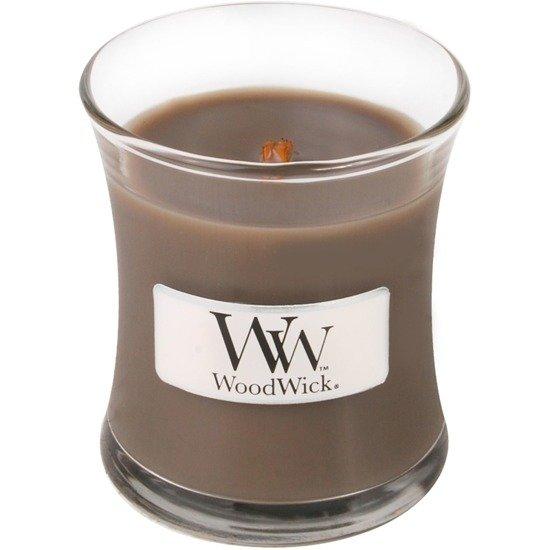 WoodWick Core Small Candle świeca zapachowa sojowa w szkle ~ 40 h - Sand & Driftwood