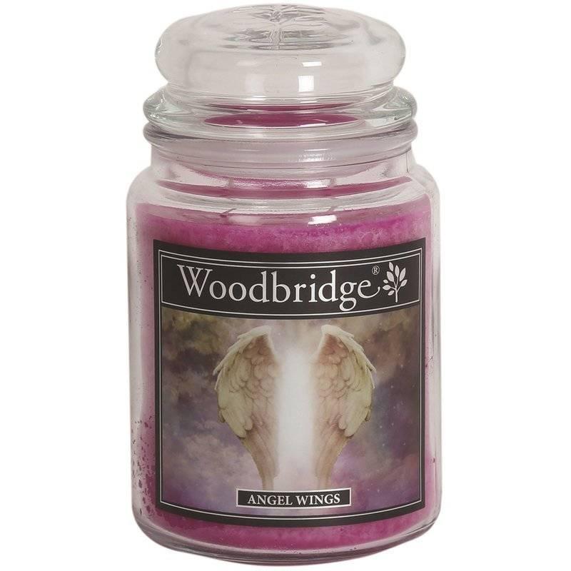 Woodbridge świeca zapachowa w słoju duża 2 knoty 565 g - Angel Wings